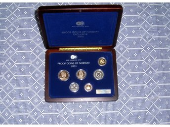 Proof Coins of Norway Eclusive 2003