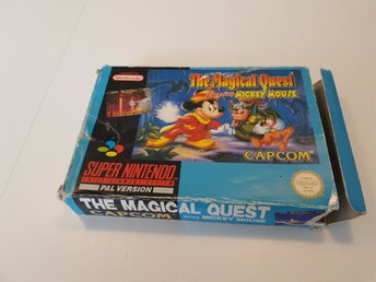 The Magical Quest Snes Scn