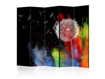 Rumsavdelare - Colourful Element II Room Dividers 225x172