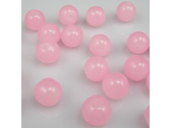 100st 4mm glas rosa