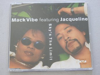 Mack Vibe featuring Jacqueline - Sky's The Limit CD Singel Promo Ex.