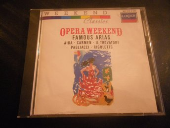 opera weekend famous arias cd