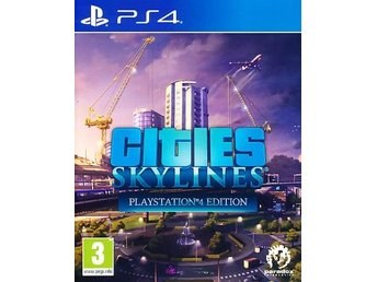 Cities Skylines PS4 (PS4)