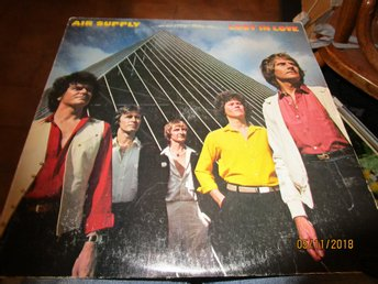 AIR SUPPLY - LOST IN LOVE - LP