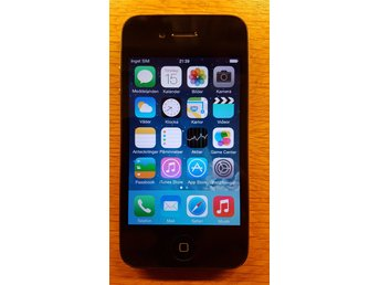 Mobiltelefon - iPhone 4 Black 16GB