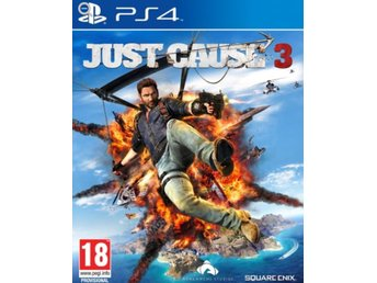 JUST CAUSE 3 - ps4 -Playstation 4 - ospelat