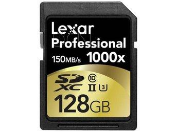 Lexar SDXC Card 128GB 1000x Professional UHS-II - Höganäs - Lexar SDXC Card 128GB 1000x Professional UHS-II - Höganäs