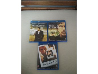 Rescue Dawn, Memento & The Assassination of Jesse James Blu-Ray