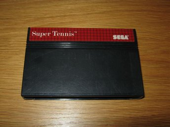 SEGA MS/PAL: Super Tennis (enbart kassett)