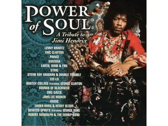 Power Of Soul: A Tribute To Jimi Hendrix (2004) CD, Image, Like New, Prince - Ekerö - Power Of Soul: A Tribute To Jimi Hendrix (2004) CD, Image, Like New, Prince - Ekerö