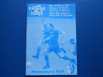 Program Hovmantorp GOIF 2005.