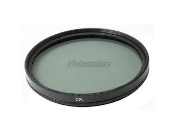 Svart / 67mm CPL Filter till Kamera DSLR SLR