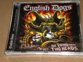 English Dogs - The Thing With Two Heads (CD)