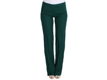 Ermanno Scervino - Green Wool Dress Casual Pants