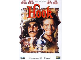 HOOK (1991) - Robin Williams, Julia Roberts, Dustin Hoffman - DVD