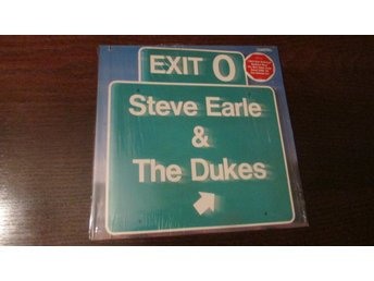 STEVE EARLE & THE DUKES - EXIT 0 - LP - 1987 - COUNTRY ROCK