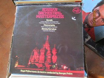 RUSSIAN ORCHESTRAL MASTERPIECES  - LP
