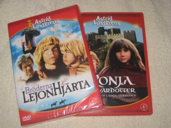 ASTRID LINDGRENS RONJA AND LEJONHJÄRTA (NEW) FREE POST