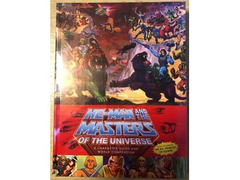 He-Man and The MoTU: A Character Guide and World Compendium HC NM Ny Import
