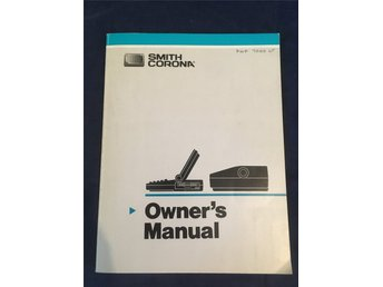 Smith Corona PWP-7000 LT & PWP 3000 Owner's Manuals / Manualer