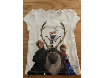 T-shirt, Frozen, strl 104