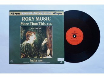 ** Roxy Music ‎– More Than This  **