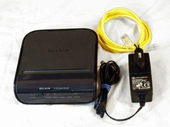 Belkin G Wireless Modem Router OBS LÅGT UTROP! (355841957