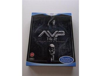 AVP 1&2 Collector's Boxset / Alien vs Predator 1&2, 2 disc Bluray m. svensk text - Malmö - AVP 1&2 Collector's Boxset / Alien vs Predator 1&2, 2 disc Bluray m. svensk text - Malmö