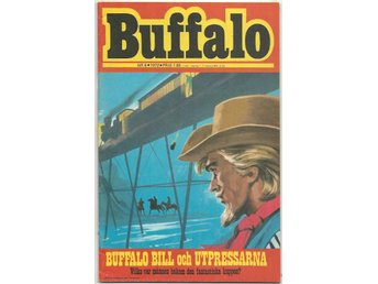 Buffalo Bill 1972 Nr 6 VF - Vikingstad - Buffalo Bill 1972 Nr 6 VF - Vikingstad
