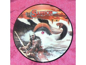 "SAMSON - RED SKIES - 2 LÅTARS 7"" BILD-SINGEL - UK 1983"