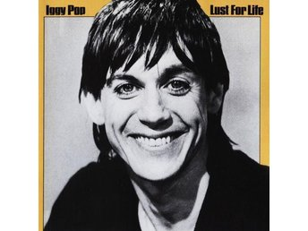 IGGY POP-Lust For Life-CD-Garage Punk Rock-Fint Skick