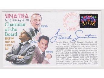 100th ANNIVERSARY OF THE BIRTH OF FRANK SINATRA FDC