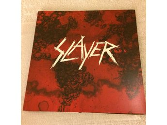 SLAYER World painted blood _ Metallica, Megadeth, Kreator, Sodom