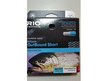 Helt ny !  Rio Coldwater  Intouch Outbound Short WF7 Float/Int. Saltwater