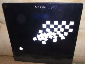 CHESS 2-LP Björn & Benny (ABBA) Fold-out DUBBELVINYL Booklet EX/EX!!!