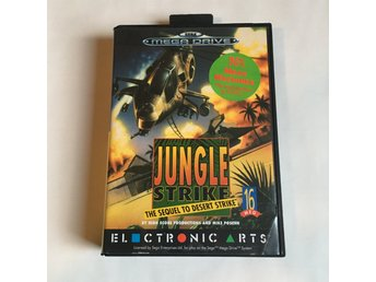 Jungle Strike - Sega Mega Drive