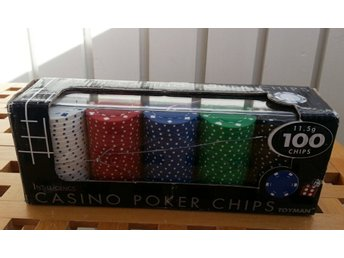 Casino Poker Chips 100 chips 11,5g