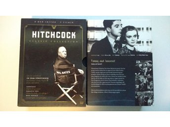 DVD-box: Hitchcock Classic Collection 9 filmer (svenska undertexter)