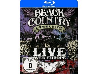 Black Country Communion: Live over Europe 2011 (Blu-ray)