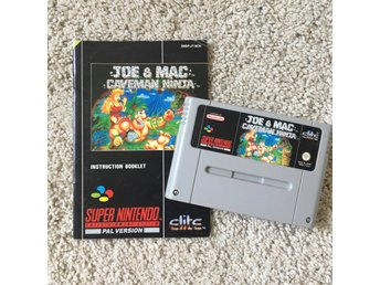 JOE & MAC CAVEMAN NINJA - SNES/PAL