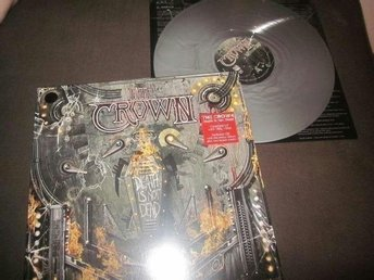 The Crown - Death is not Dead LP Silver 100x (at the gates)