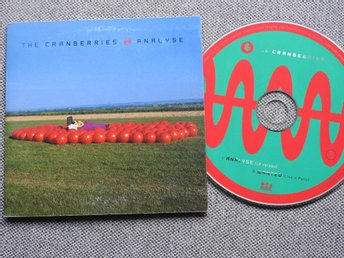 The Cranberries - Analyse CD Singel (pappfodral) + Wanted live in Paris