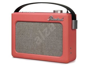 Ricatech Retro FM/AM-Radio Läderlook PR78 Rosa