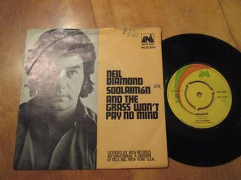 "Neil Diamond ""Soolaimon/And The Grass Won't Pay No Mind"""