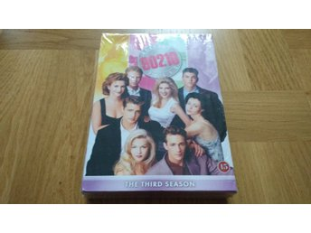 INPLASTAD DVD-box Beverly Hills 90210 Third Season Säsong 3 svenska undertexter