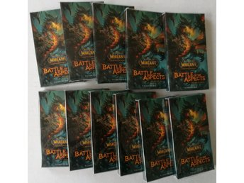 World of Warcraft TCG Battle of the Aspects Treasure Packs - 11st Packs á 9 kort