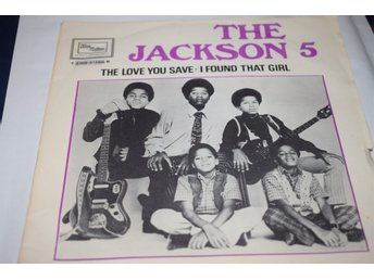 Michael Jackson The Jackson 5    The Love you save / I found that girl