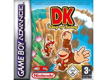 Donkey Kong: King of Swing - Gameboy Advance