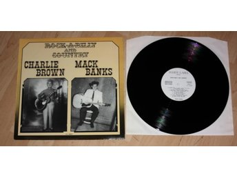 CHARLIE BROWN/MACK BANKS Rockabilly 1950's