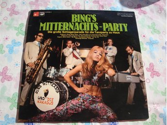 BING WITTKAMP - MITTERNACHT  PARTY LP